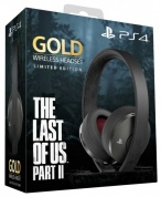 Гарнитура Gold Wireless Headset The Last Of Us Part II: Limited Edition для PS4 (CUHYA-0080)