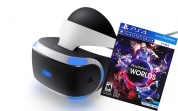 Sony PlayStation VR Шлем виртуальной реальности v2 (CUH-ZVR2) + игра VR Worlds