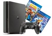 Sony PlayStation 4 Slim 1 tb + Crash Team Racing + Ratchet & Clank