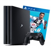 Sony PlayStation 4 PRO Black + игра FIFA 19