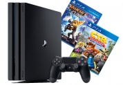 Игровая приставка Sony PlayStation 4 Pro + Crash Team Racing + Ratchet & Clank