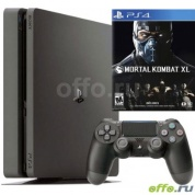 Игровая приставка Sony PlayStation 4 Slim 500GB + игра Mortal Kombat XL