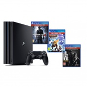 Sony PlayStation 4 PRO 1 Tb Black + Uncharted 4 + Ratchet & Clank + The Last of Us Remastered